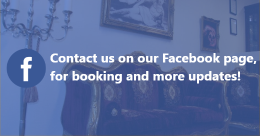 Contact us on our Facebook page, for all your booking and news needs!